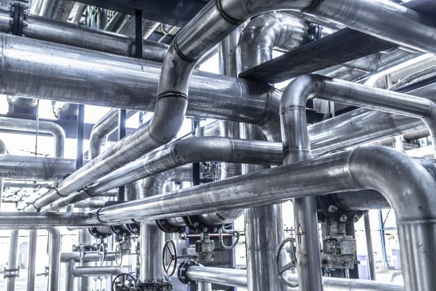 Průmyslové potrubní systémy