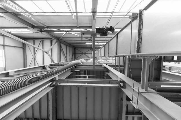 Výroba a montáže ocelových konstrukcí