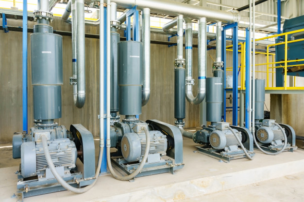 Čerpací stanice, úpravny, čistírny odpadních vod